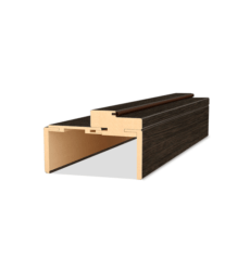 Коробка дверная телескопическая дуб серый