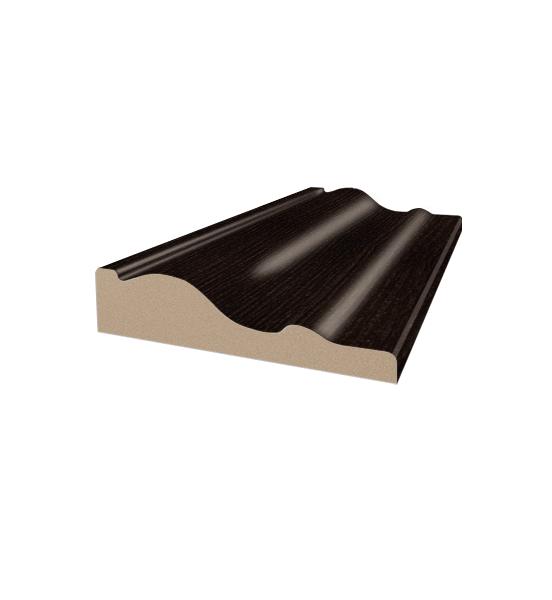 Наличник фигурный орех темный