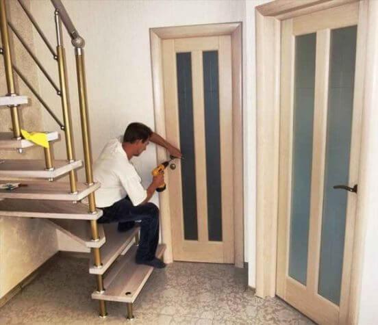 межкомнатных дверей купить с установкой акция